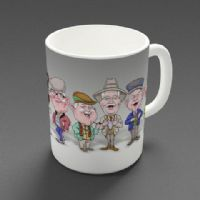 Auld Pals - Whole Gang Mug